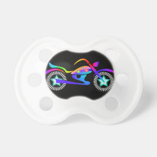 MOTORCYCLE THEMED BABY PACIFIER