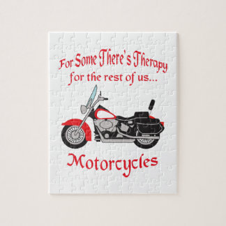 MOTORCYCLE THERAPY JIGSAW PUZZLE