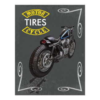 Motorcycle Tires Flyer
