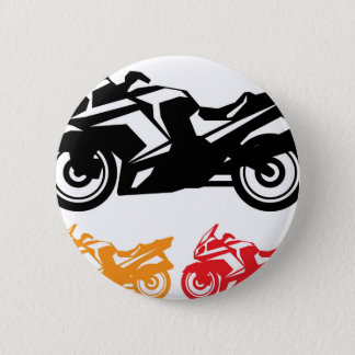 Motorcycle vector button