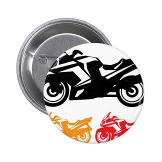 Motorcycle vector button