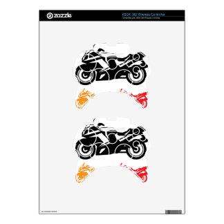 Motorcycle vector xbox 360 controller skin