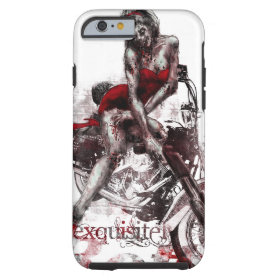 Motorcycle Zombie Pinup iPhone 6 case