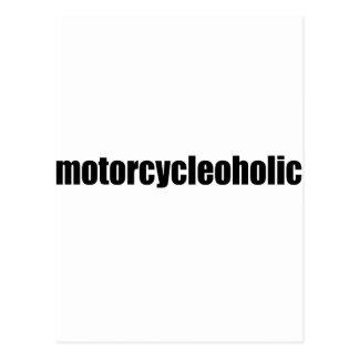 Motorcycleoholic Postcard