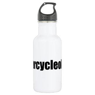 Motorcycleoholic Stainless Steel Water Bottle