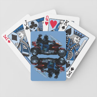Motorcycles Bicycle Playing Cards