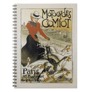 Motorcycles Comiot Notebook