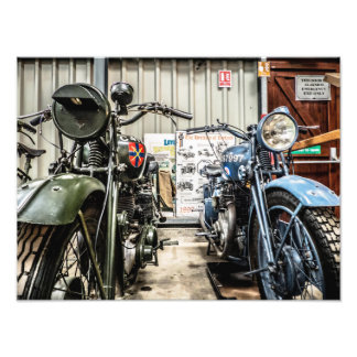 Motorcycles Photo Print