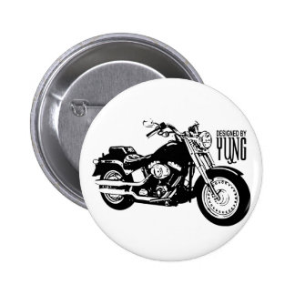 Motorcycles Pinback Button