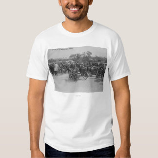 Motorcycles Requisitioned, Paris Photograph Tee Shirt