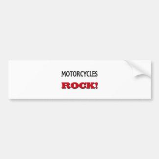 Motorcycles Rock Car Bumper Sticker