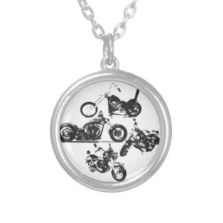 Motorcycles rule my world and support my freedom jewelry