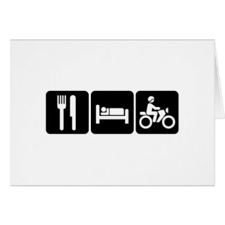 Motorcycling Cards