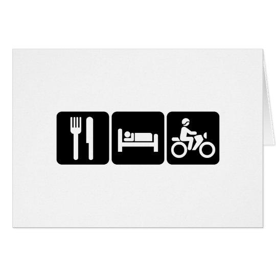 Motorcycling Card