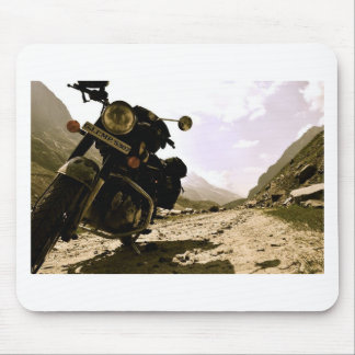 Motorcycling in Ladakh Mouse Pad