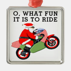 Motorcyclist Collectible Metal Ornament at Zazzle