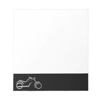 motorcyle motorbike bike biker memo note pads