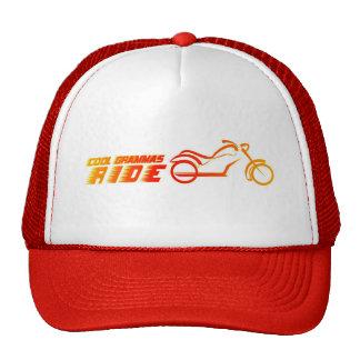 motorcyle motorbike bike biker trucker hat