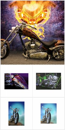 MOTORCYLES * CHOPPERS