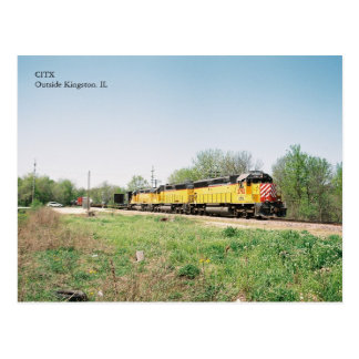 Motores de CITX en primavera Postales