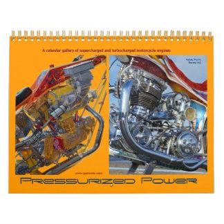 Motores de la motocicleta - turbocharged y calendarios