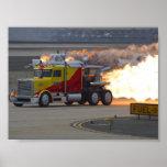 Motores de los camiones posters