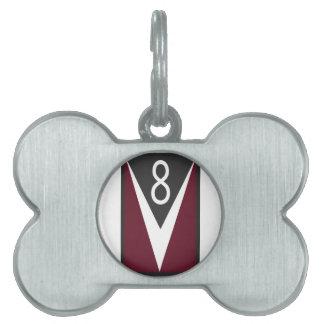 Motores de V8 Placa Mascota