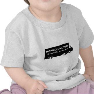Motores mormones Usted consigue lo que usted paga Camisetas