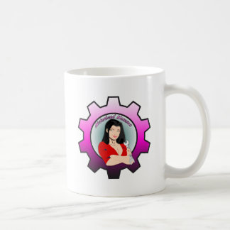 Motorhead Momma - Black Hair Coffee Mug