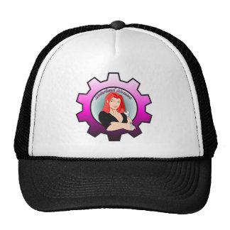 Motorhead Momma - Red Head Trucker Hat