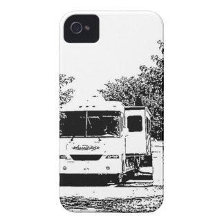 Motorhome in RV Park iPhone 4 Covers