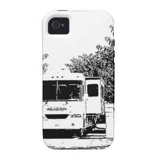 Motorhome in RV Park iPhone 4/4S Cover