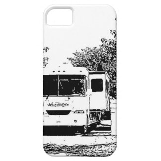 Motorhome in RV Park iPhone 5 Cases