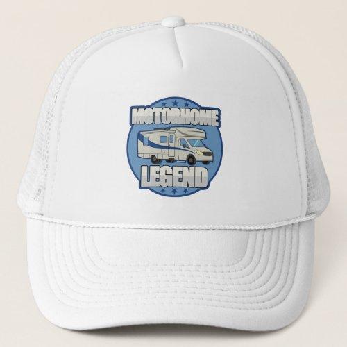 Motorhome Legend RV Retirement Gift Trucker Hat