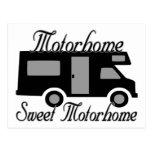 Motorhome Motorhome dulce rv Postales