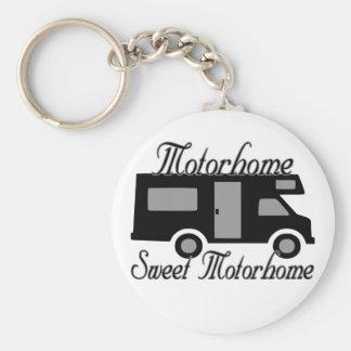 Motorhome Sweet Motorhome Keychain