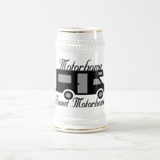 Motorhome Sweet Motorhome RV Beer Stein