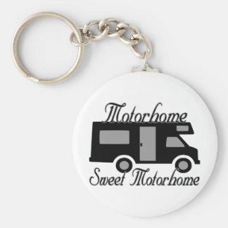 Motorhome Sweet Motorhome RV Keychains