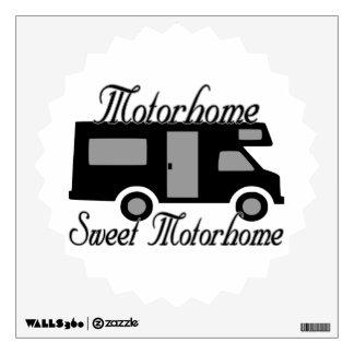 Motorhome Sweet Motorhome RV Wall Decal