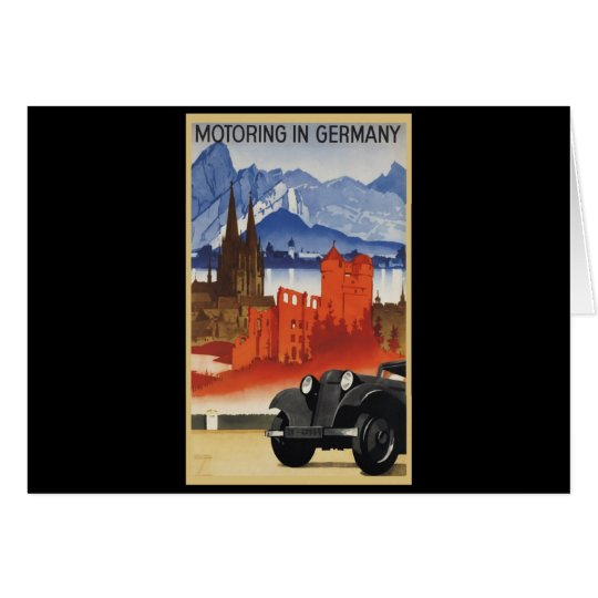 Motoring In Germany Card