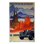 Motoring in Germany Posters