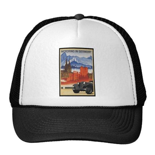 Motoring In Germany Trucker Hat