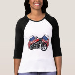 Motorista americano camiseta
