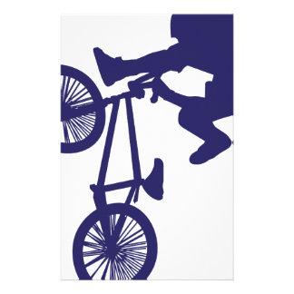 Motorista de BMX Personalized Stationery
