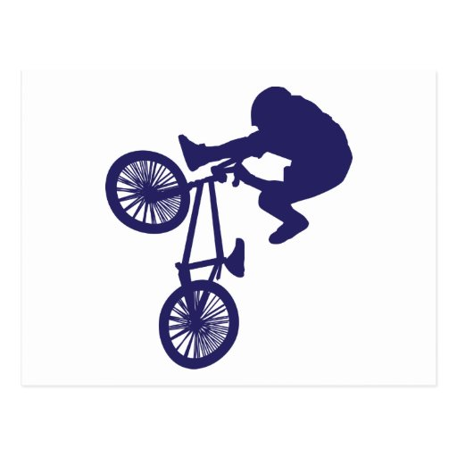 Motorista de BMX Postal