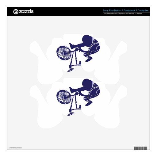 Motorista de BMX Skins Para Mando PS3