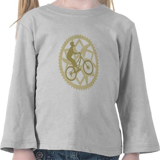Motorista de Chainring Camiseta