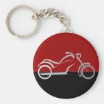 motorista de la bici de la moto del motorcyle llavero personalizado