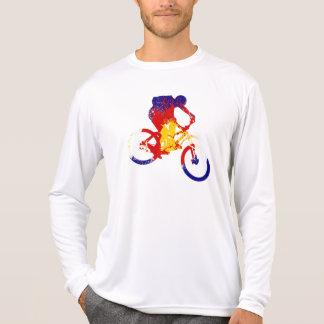 Motorista de la montaña de la bandera de Colorado Camiseta
