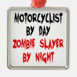 Motorista del asesino del zombi ornato